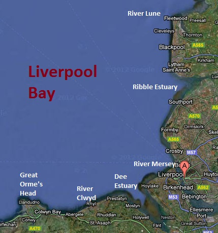 LBMRP Map Of The Area - Where is liverpool